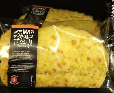 Hickory ham & cheese toastie