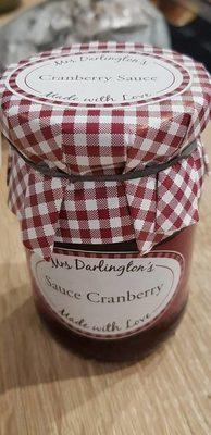 Sauce cranberry