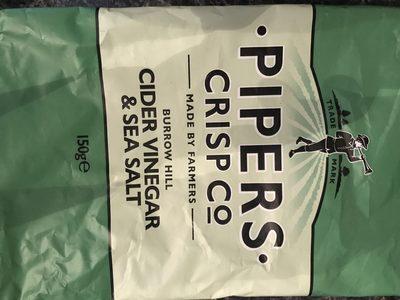 Burrow Hill Cider Vinegar and Sea Salt Crisps