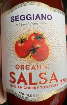 Organic salsa - Sicilian cherry tomatoes