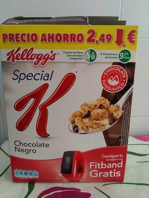 Special K chocolate negro