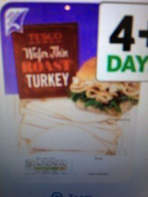 Wafer Thin Roast Turkey