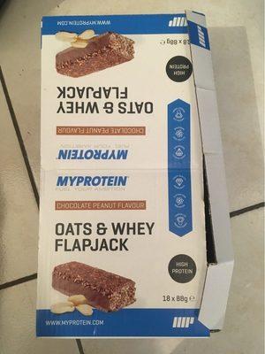 Mybar Oats & Whey - 18X88G - Chocolate Peanut