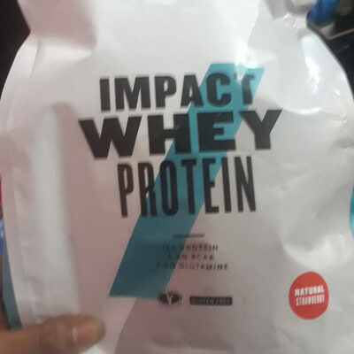 Impact Whey Protein - 1000G - Natural-erdbeere