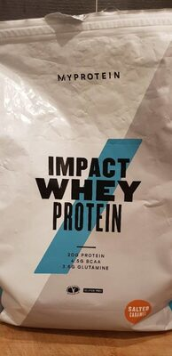 Impact Whey Protein - Salted Caramel
