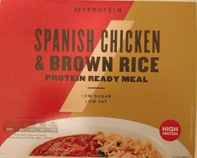 Spanish Chicken and Brown rice