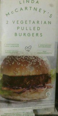 2 vegetarian pulled burgers