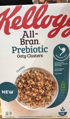 All-bran prebiotic oaty clusters
