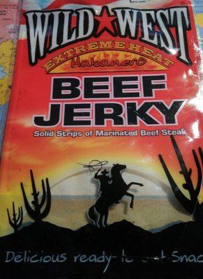 Beef jerky Habanero