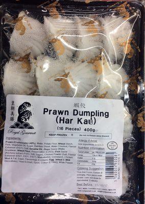 Prawn dumpling (Har Kau)