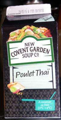 Soupe Poulet Thaï