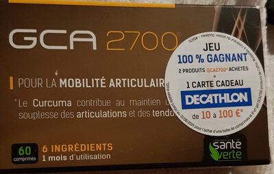 Santé Verte Gca 2700 60 Comprimés