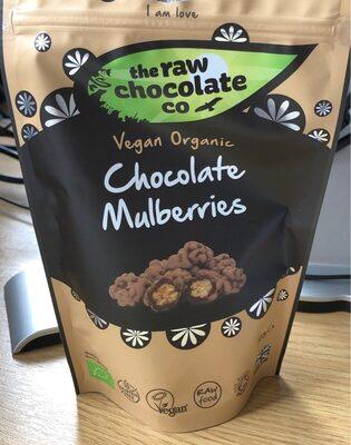 The Raw Chocolate Organic Chocolate Mulberries