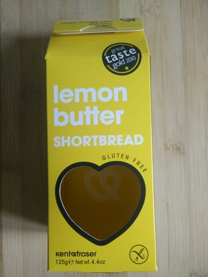Biscuit crunch au citron et au beurre