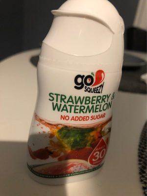 Go Squeezy strawberry & watermelon