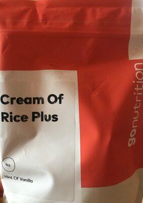 Cream of rice plus