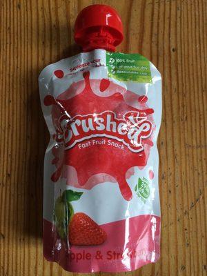 Fast fruit snack - Apple & strawberry