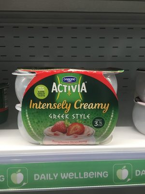 Activia Intensely Creamy Strawberry 4X110g