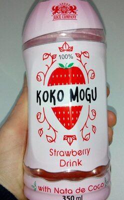 Koko Mogu strawberry drink