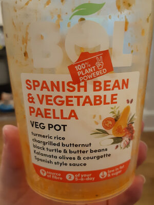Spanish Bean & Vegetable Paella