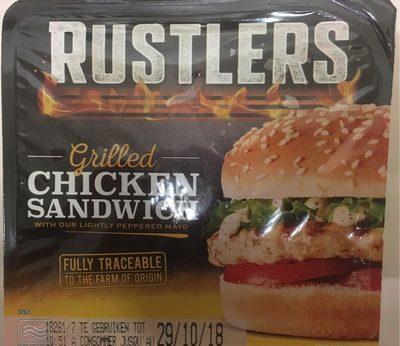 Grilled chicken sanswich