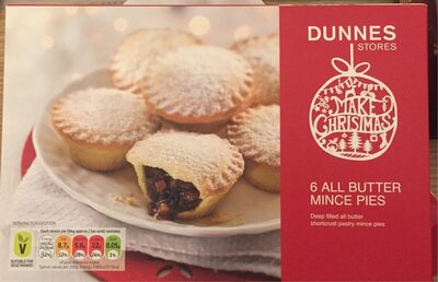 6 All Butter Mince Pies