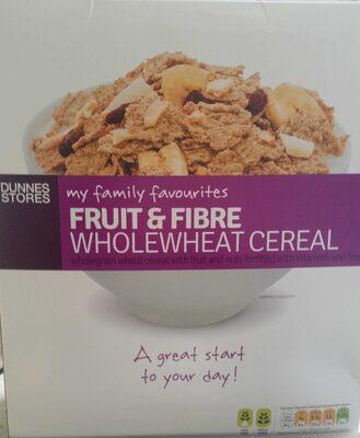 Fruit & Fibre Wholewheat Cereal