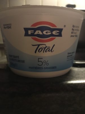 Yaourt Grec FAGE Total 5%