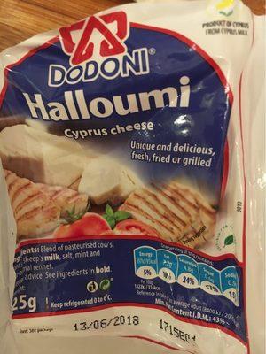 Dodoni Halloumi Cheese 225G
