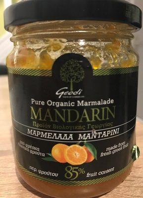 Pure Organic Marmalade Mandarin