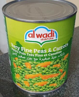 Very fine peas & carrots