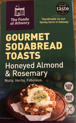 Gourmet Sodabread Toasts