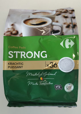 Coffee pads strong