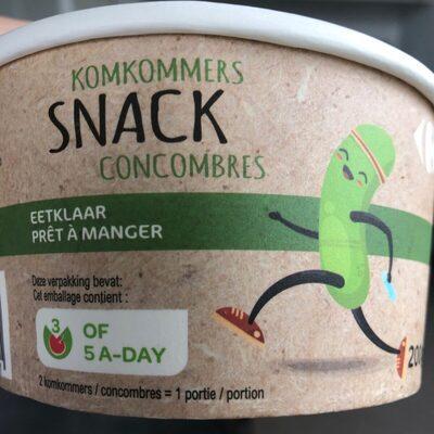 Snack Concombres
