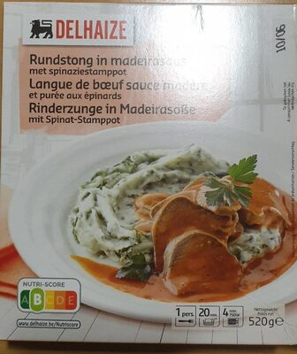 Langue de boeuf sauce Madère