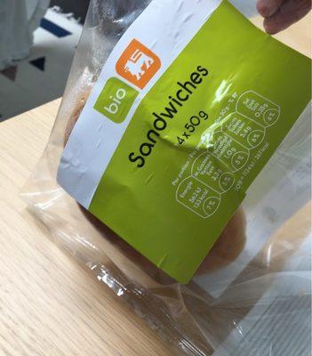 Sandwiches bio delhaize