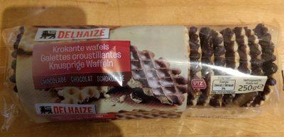 Galettes croustillantes - Chocolat