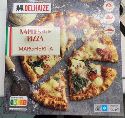 Naples style Pizza margherita