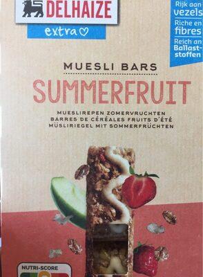 Muesli Bars summerfruit