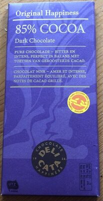Cocoa 85% Dark chocolate
