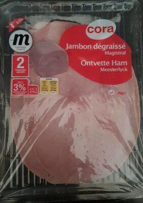 Jambon dégraissé Magistral