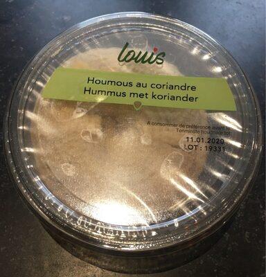 Hummus au coriandre