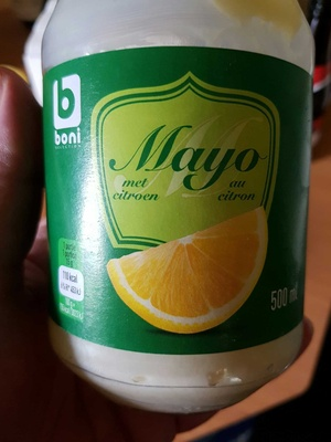 Mayonnaise au citron