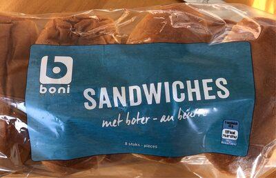 Sandwiches - au beurre