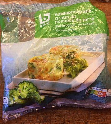 Gratin de pommes de terre au brocoli