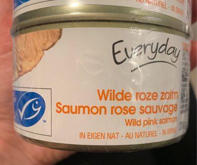 Wilde roze zalm