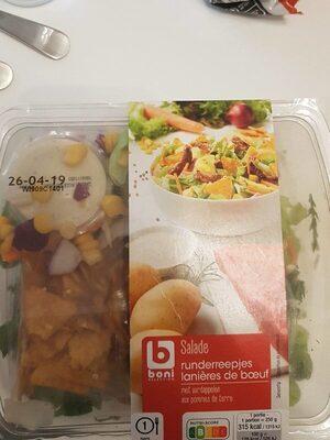 Laniere de boeuf salade