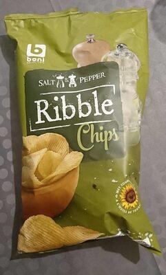 Salt & Pepper Ribble Chips