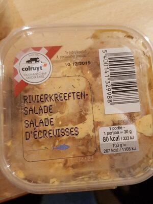 Salade d'écrevisses