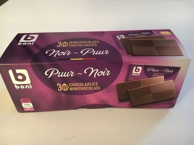 Minichocolats noir 100gr